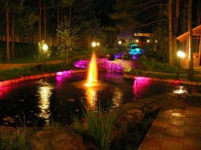 Цветной сад