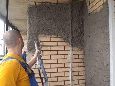 как оштукатурить стены фасада