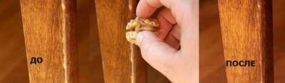 реставрация мебели грецким орехом