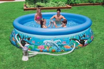 Загородный бассейн своими силами