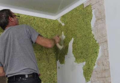 покрытие для кухонных стен