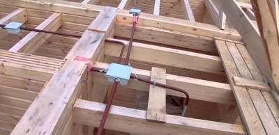 электропроводка в деревянном строении