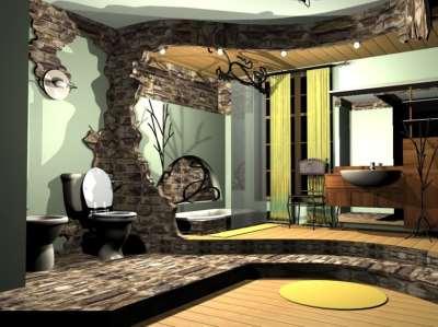 готический стиль комнаты, фото