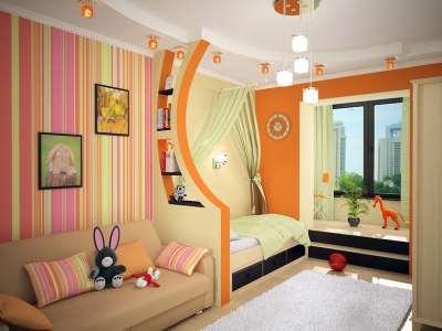 зональная детская комната