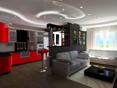 Стильная квартира студия