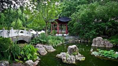 Китайский ландшафтный дизайн, фото