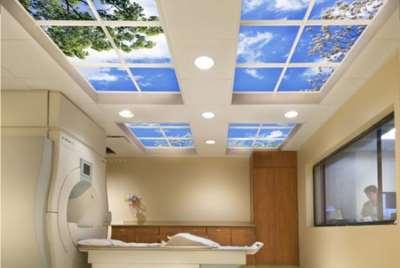 потолок с подсветкой неба, фото