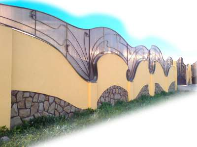 Красивый забор, фото