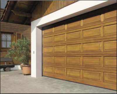 разные типы гаражных ворот