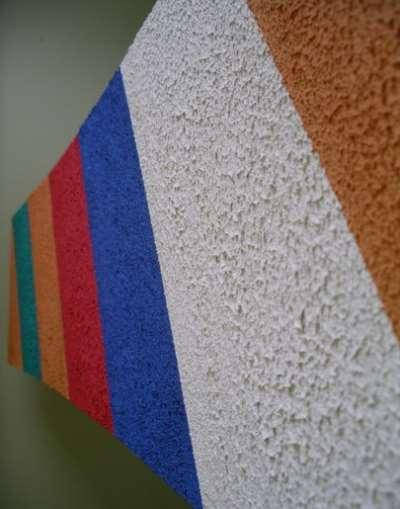 Текстурная краска и ее использование