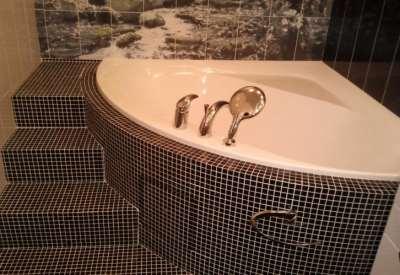 Ванная мозаика, фото