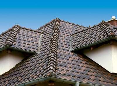 Крыша, сложный рельеф