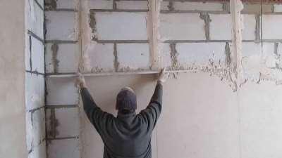 Оштукатуривание стен, секреты и азы дела