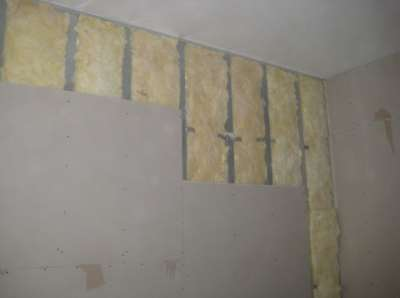 Обшивка стен гипсокартоном, фото