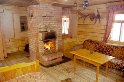 Печное отопление дачного дома, фото