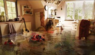 Затопили соседи, фото