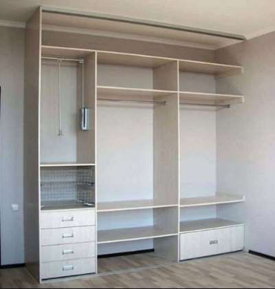 Встроенная мебель, делаем шкаф своими руками