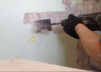 Способы очистки стен своими руками