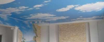 Натяжные потолки из ткани, преимущества и недостатки