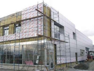 Вентилируемый фасад, функции и монтаж