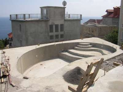 Строительство бассейна: этап за этапом