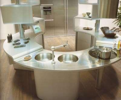 Маленькая кухня полуостров. Идеи дизайна.