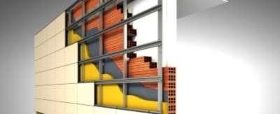 Монтаж вентилируемых фасадов: правильная технология