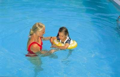 Надувные круги для обучения плаванию – на что обращать внимание при выборе