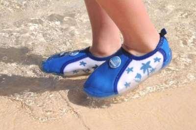 Пляжная обувь для детей – как не ошибиться при выборе