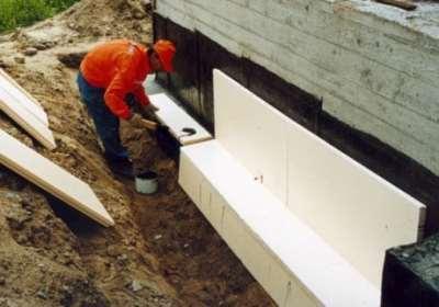 Гидроизоляция фундамента и стен цокольных этажей – популярные способы
