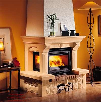 Дровяной камин – отличный способ сделать дом более теплым и уютным