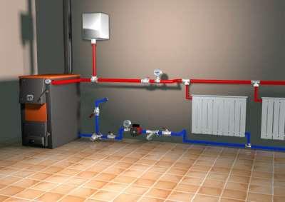 Особенности различных схем подключения батарей отопления