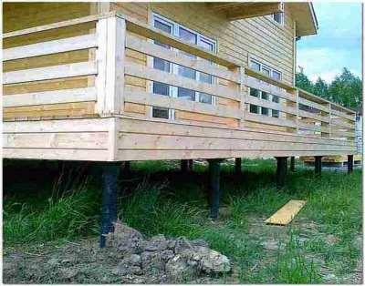 Услуга установки свайного фундамента под частный дом