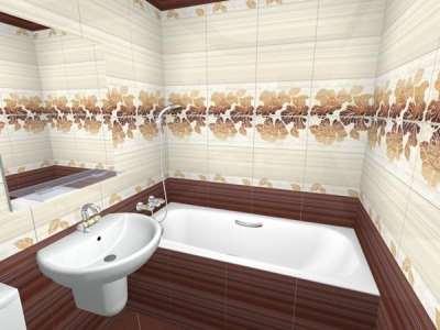 Какую плитку выбрать для отделки ванной комнаты