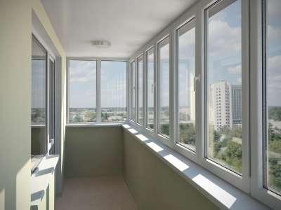 Остекление балконов и лоджий с помощью пластиковых окон