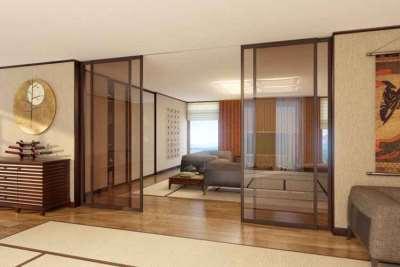 Межкомнатные перегородки для транфсормации помещения