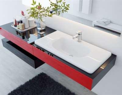 Акриловый камень для ванной комнаты: стильно, практично, выгодно
