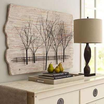 Декоративное панно на стену – лучший способ преображения интерьера