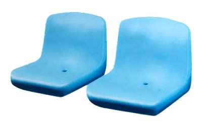 Прочные пластиковые сиденья