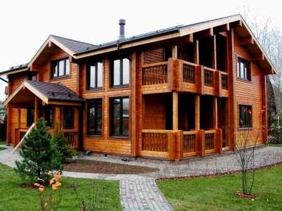 Дома из профилированного бруса – комфорт и экологичность