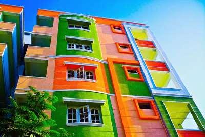 Фасадные краски, их основные виды и преимущества