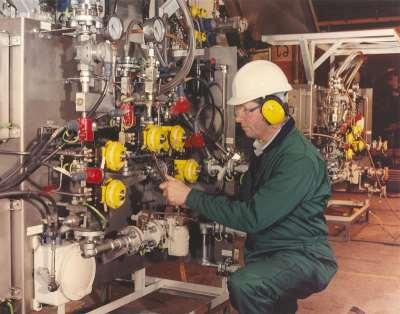 Основные этапы монтажа технологического оборудования