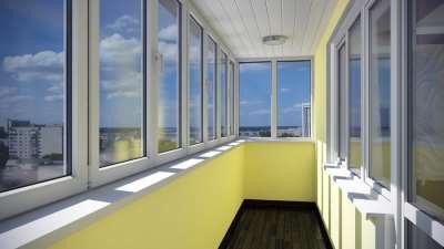 Два основных вида остекления лоджий и балконов