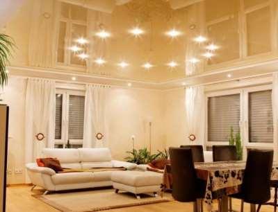 В чем особенность использования точечныхз светильников