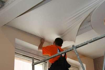 Самостоятельное выполнение монтажа натяжных потолков