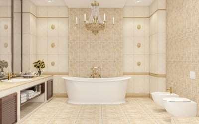 Преимущества керамической плитки в ванной