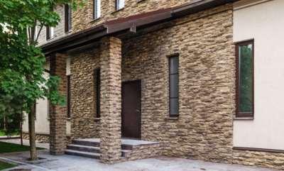 Декоративный камень для отделки фасада дома: как правильно выбрать?