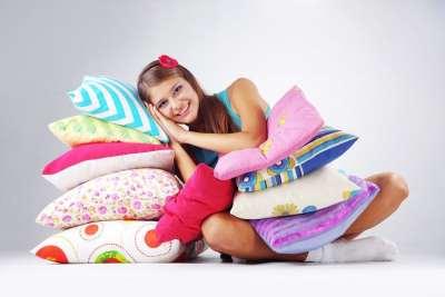 Одеяла и подушки для всей семьи