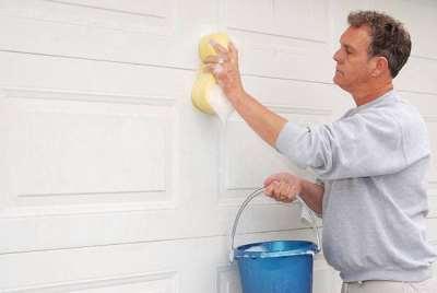 Правила ухода за гаражными секционными воротами