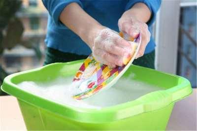 Мытье посуды может доставлять удовольствие